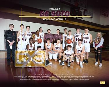 De Soto boys basketball BBB2021