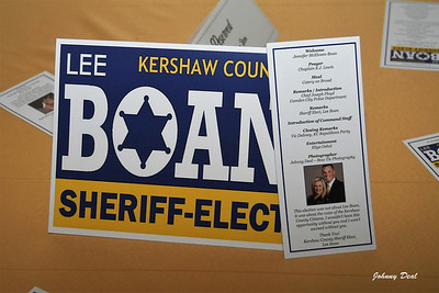 2018 Lee Boan Sheriff-Elect Event