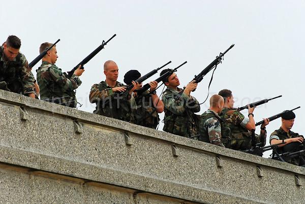 Non-Belgian Armies