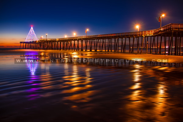 Pismo Pier at Christmas
