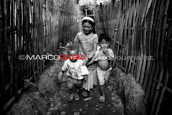 Thayland project ong Burmese Refugee Camp