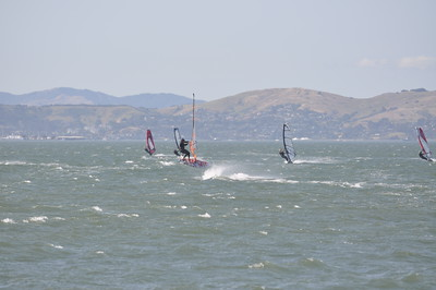 Thursday May 14th Crissy Windsurfing - Hucka Forward Day