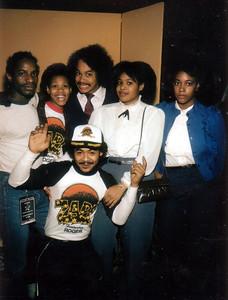 "DJ ""Gary G"" family 'n friends at Wichita State University 1977 - 1987"