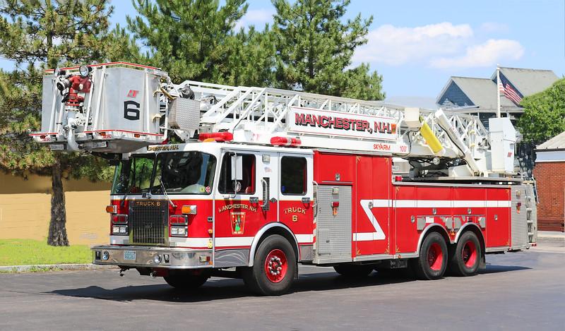 Truck 6.  1996 Spartan / Nova Quintech.  100' Tower