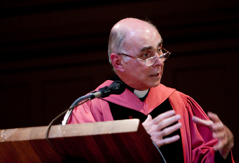 Day 3 - The Baccalaureate - J. Bryan Hehir is the Parker Gilbert Montgomery Professor of the Practice of Religion and Public Life at the Kennedy School of Government at Harvard University. He is also the Secretary for Health and Social Services for the Archdiocese of Boston.