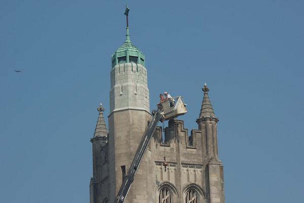 Church tower maintenance