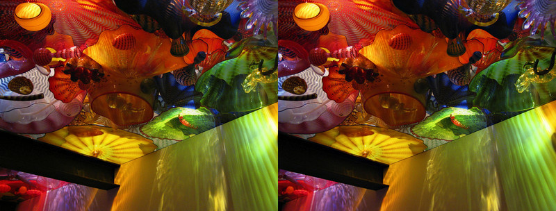 Chihuly at the DeYoung - in 3D