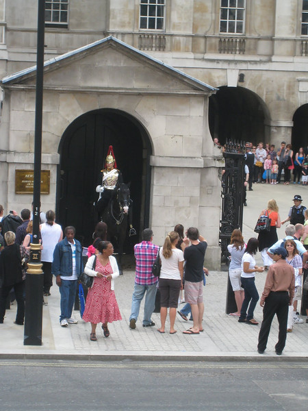 Whitehall Horse Guard, London
