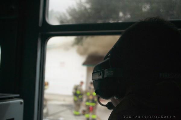 2 Alarm Commercial Fire - 1900 Blanco Rd, San Antonio, TX - 10/14/17