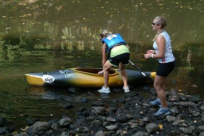 2010 Greenway Challenge - paddle 1 - JL