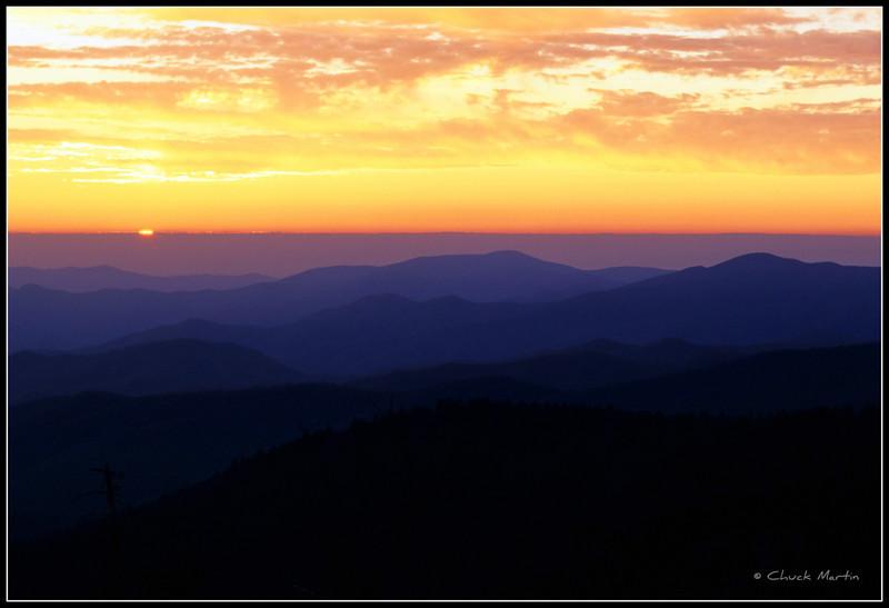 Sunrise-Clingman's Dome