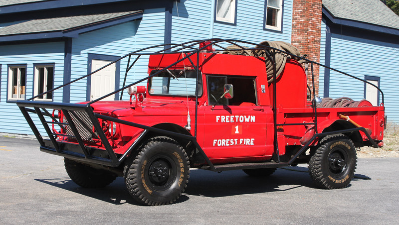 Retired Forestry 1.  1967 Jeep.  250 / 275