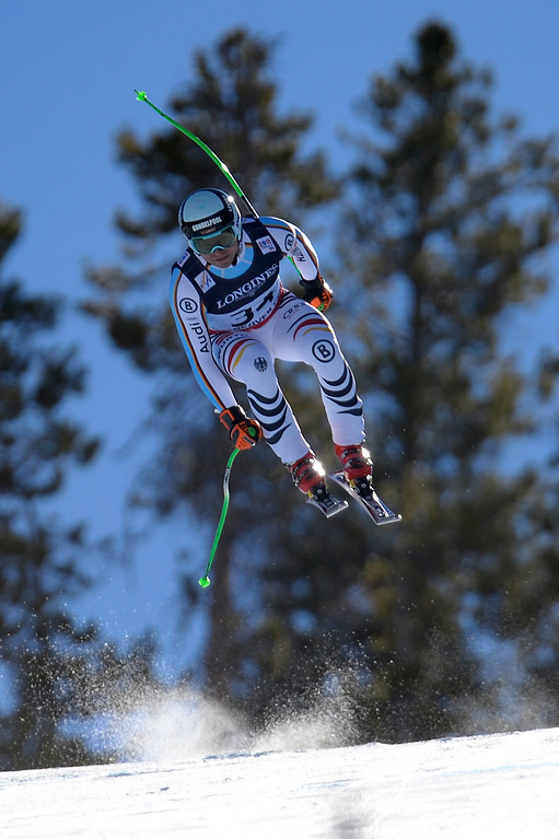 . BEAVER CREEK, CO - FEBRUARY 08: Andreas Sander of Germany during the men\'s alpine combined final. FIS Alpine World Ski Championships 2015 on Sunday, February 8, 2015. (Photo by AAron Ontiveroz/The Denver Post)