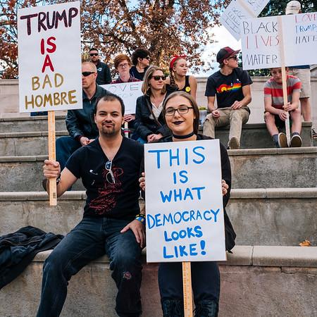 Denver Anti-Trump Ralley 11-13-16