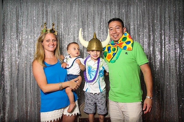 Caiden's 1st Birthday - Photo Booth