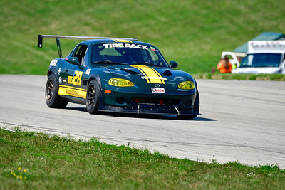 2021 SCCA Time Trials Green Cars