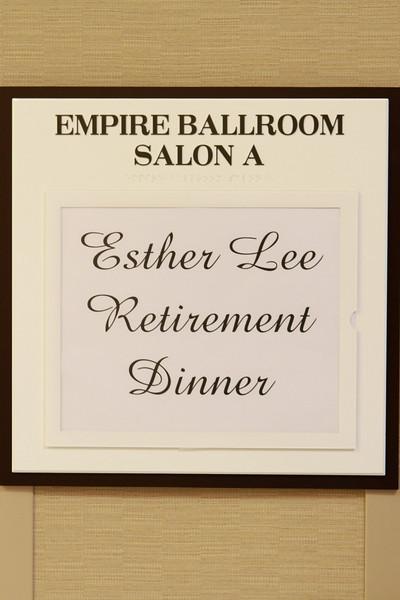 Esther Lee Retirement Celebration