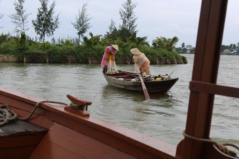 Traditional Vietnamese net fishing