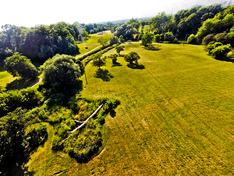 High-noon Summer at the Park 15 : Aerial Photography from Project Aerospace