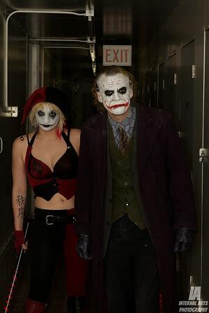 Hollywood Joker & Hollywood Harley Quinn