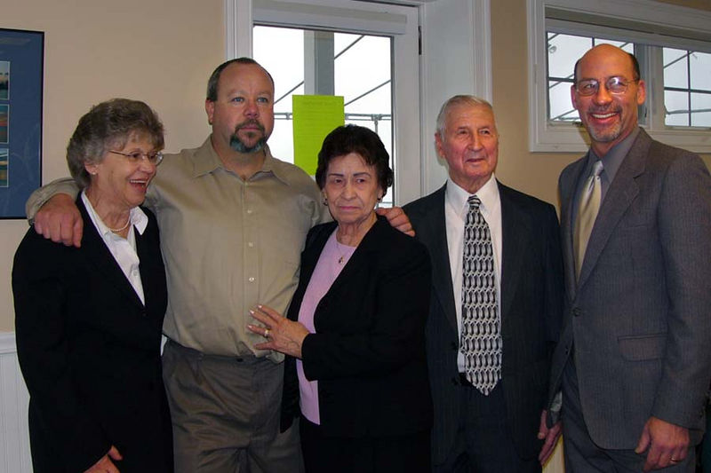Helen, Clayton (My brother), Ma Tante Edmay, Mon Oncle Gerard, and Jim Tardiff.