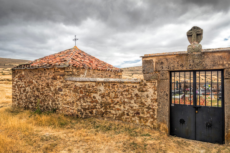 Cemetery of Gallinero, Almarza, Soria, Spain