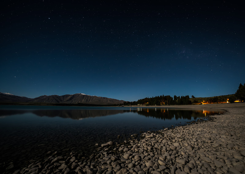 New Zealand - Lake Tekapo by Night.JPG