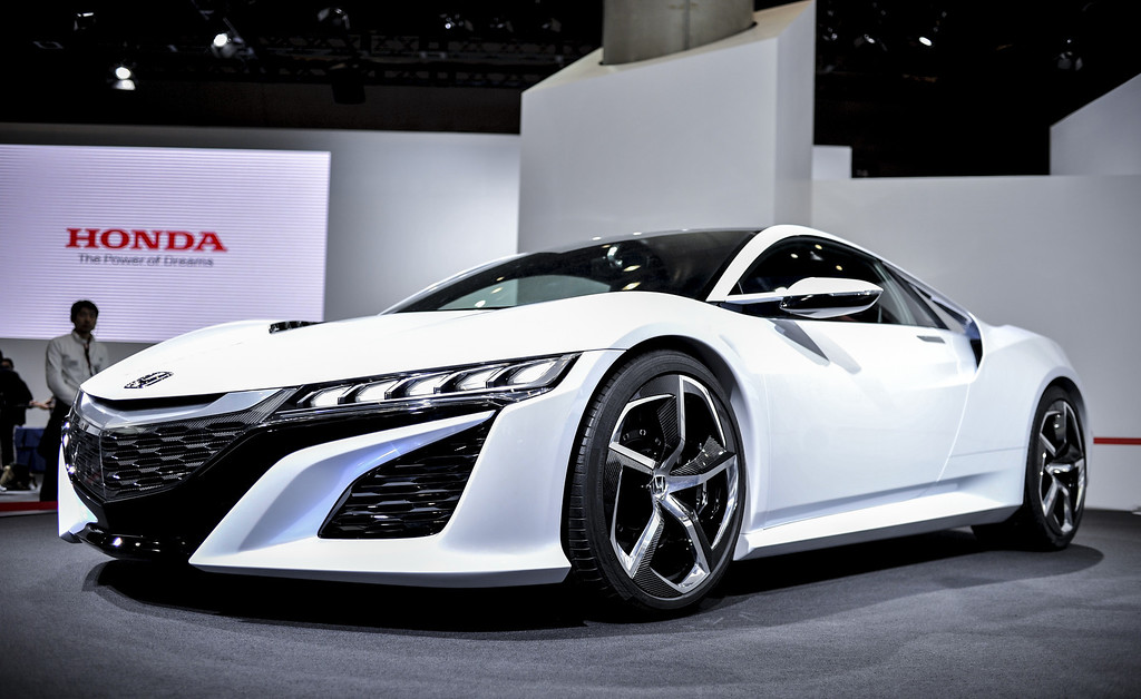 . Honda Motor Co. NSX Concept sports vehicle is displayed during the 43rd Tokyo Motor Show 2013 at Tokyo Big Sight on November 20, 2013 in Tokyo, Japan.  (Photo by Keith Tsuji/Getty Images)