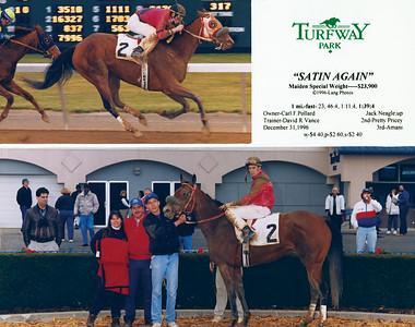 SATIN AGAIN - 12/31/1996