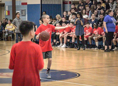 JFK Middle School Student vs. Faculty Basketball Game, 3-15-19