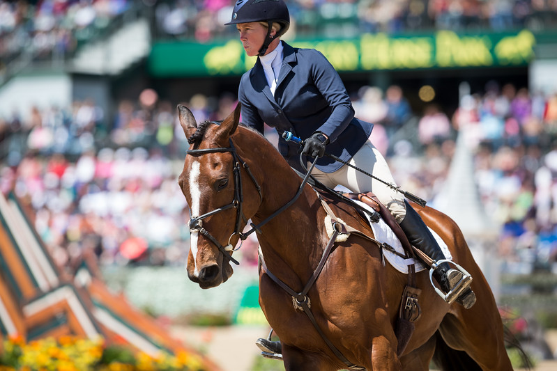 Colleen Rutledge, and Covert Rights, in the Stadium Jumping 4.26.15.