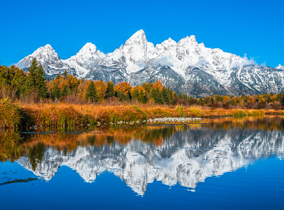 Grand Tetons National Park Wyoming Autumn