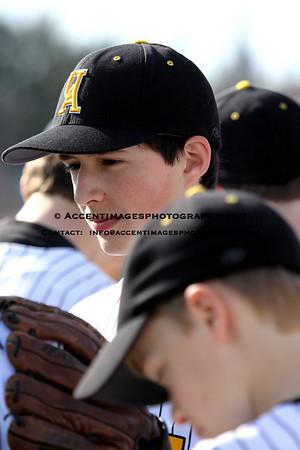 UAHS Freshman Baseball 3/31