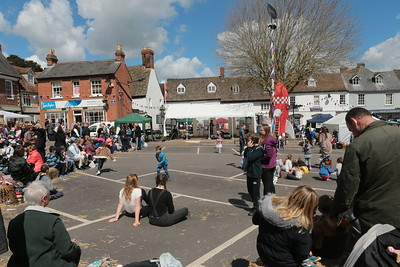 Highworth May day Celebration 2016.