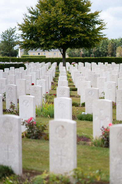 British Cemetery in Bayeux, Normandy