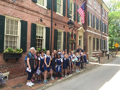 Grade 3 Trip: Pennsylvania Hospital, Physick House