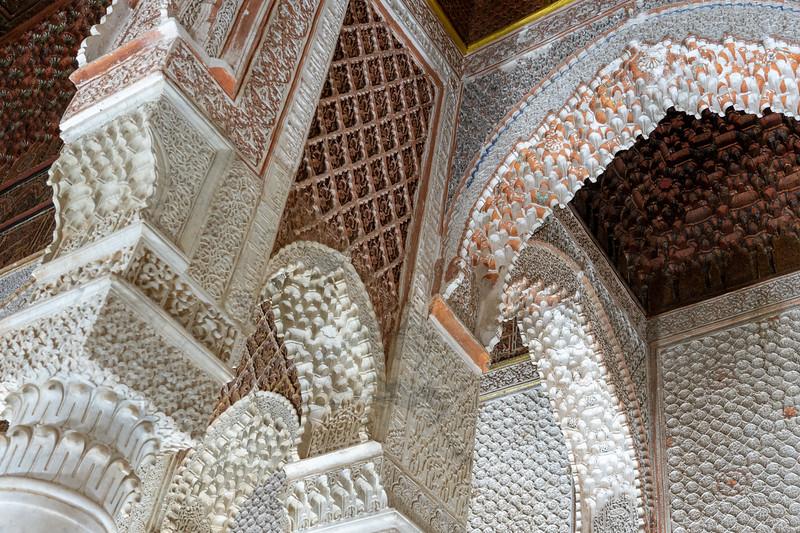 Saadian Tombs in Marrakech