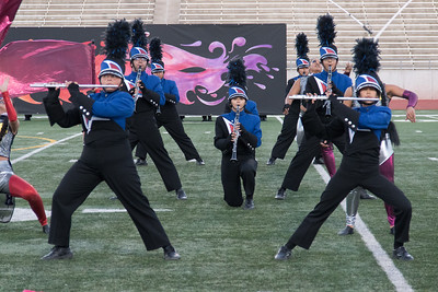 UIL Marching Band Competition