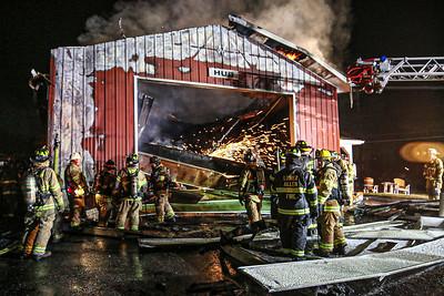 2020-1-10 Barn Fire