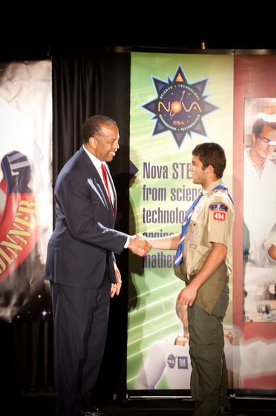 Council Recognition Dinner 2012 - Eagle Scouts