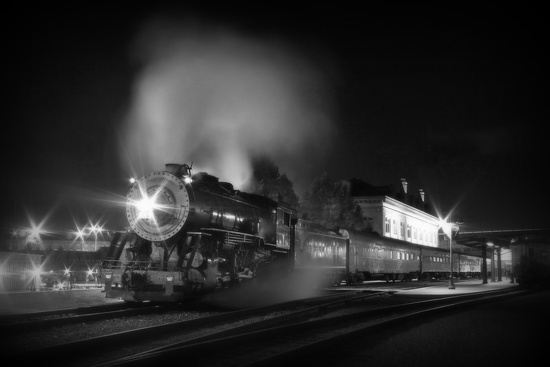 11 x 14 matted print Western Maryland Scenic Railroad