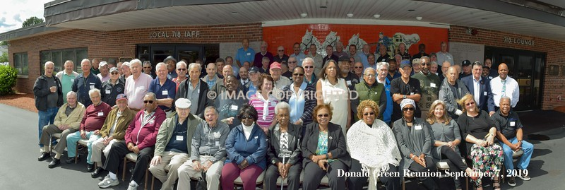 2019 Reunion Donald Green