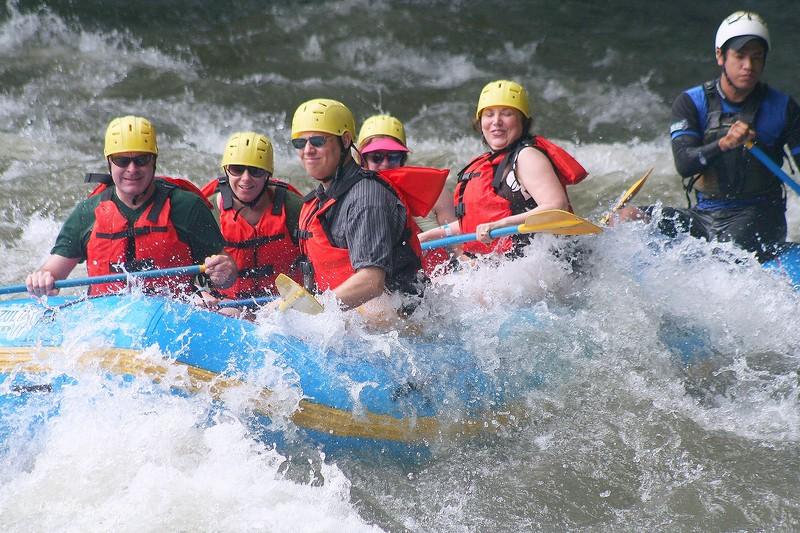 Sarapiqui: White-water rafting