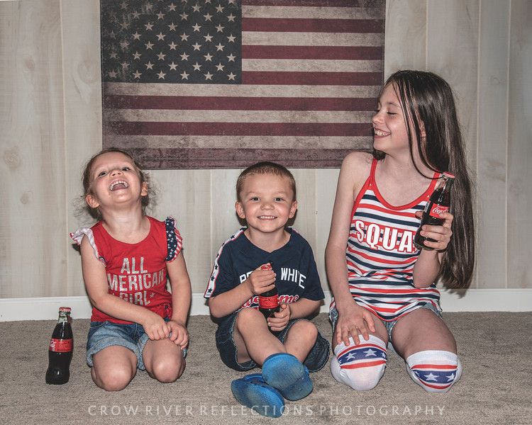 GEORGE FAMILY 2019 RED, WHITE AND BLUE SESSION
