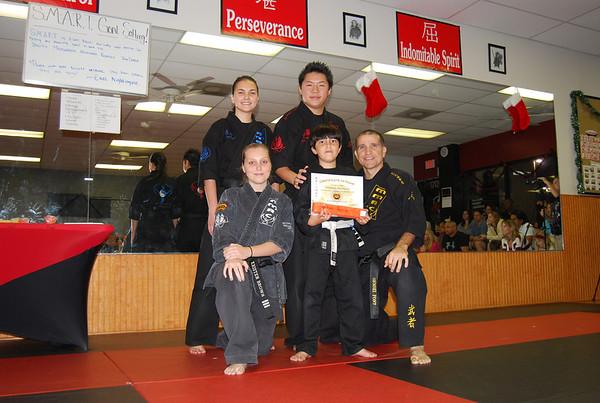 Color belt graduation - 12.12.13