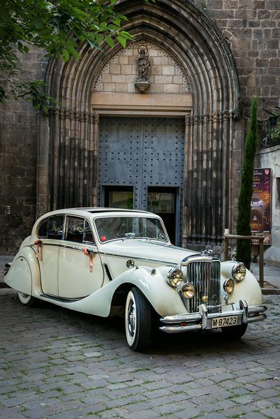 Wedding Getaway Car in Barcelona