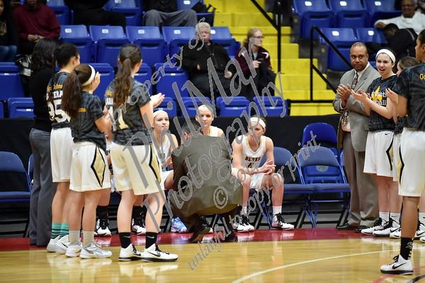 Berks Catholic vs Conrad Weiser Girls Basketball Semi-Finals 2014 - 2015