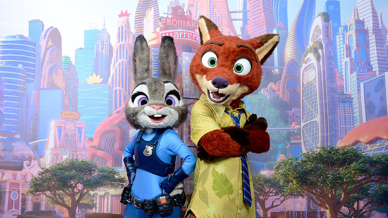 Exclusive ZOOTOPIA character meet and greet at Disneyland Resort this spring