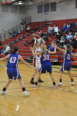 JV Girls Basketball vs Lin Christian, 2-12-11