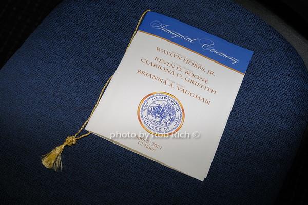 Inaugural Ceremony 2021- Village of Hempstead, NY April 5, 2021